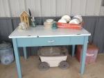 Porch Photo - Gardening table