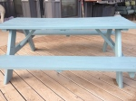 Porch Photo - Painted picnic table