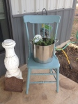 Porch Photo - Vignette of chair and plants