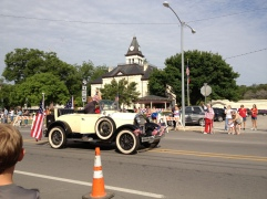 Parade Photo - Vintage car