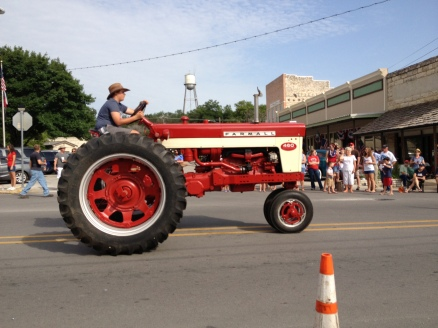 Parade Photo - Farmall Tractor