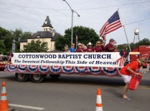 Parade Photo - Cottonwood Baptist Church