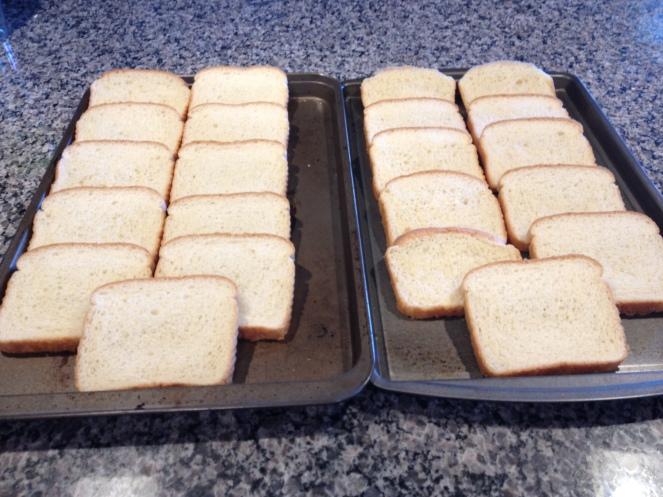 Recipe Photo - Bread prepping