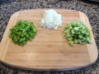 Recipe Photo - Peppers, onions, and celery
