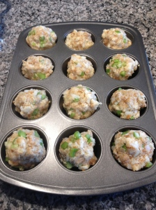Recipe Photo - Stuffin' muffins before the oven