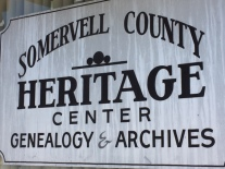 Somervell County Heritage Center