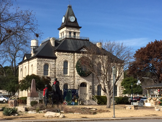 Glen Rose Town Square - Courthouse Building