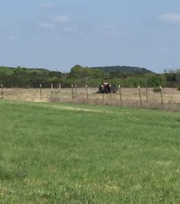 My Farmtastic Life - Cowboy Mowing the Pasture