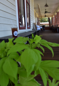 My Farmtastic Life - 2nd Street Provisions - Sweet tea on the porch