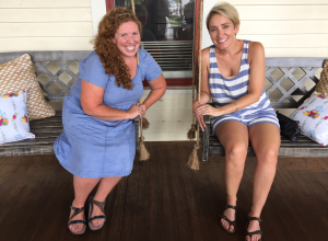 My Farmtastic Life - 2nd Street Provisions - Porch with friends
