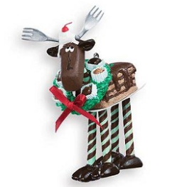 Hallmark Ornament - Chocolate Moose