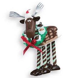 Hallmark Ornament - Chocolate Moose
